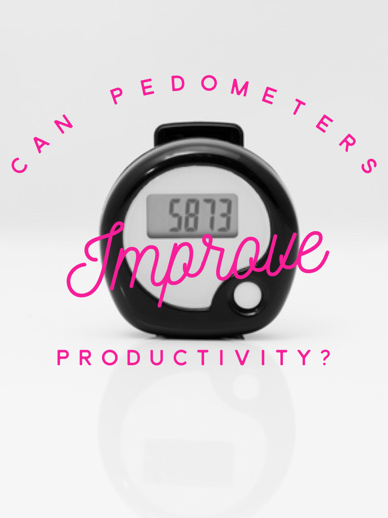 Pedometer Pic with Text